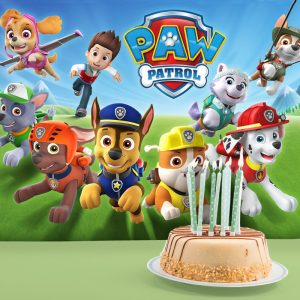 Paw Patrol Backing