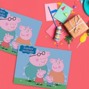 Peppa pig Individuales personalizados