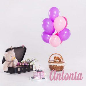 Nombre en madera Antonia