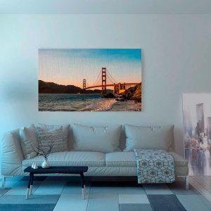 Lienzo Golden Gate