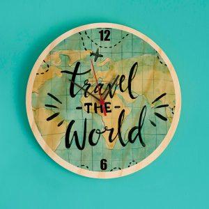 Reloj Travel the World