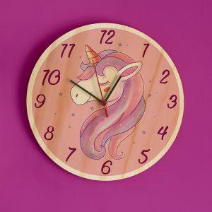 Reloj Unicornio Rosa