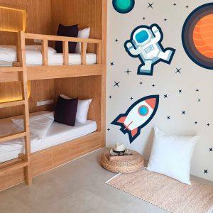Vinilo Kit Astronauta