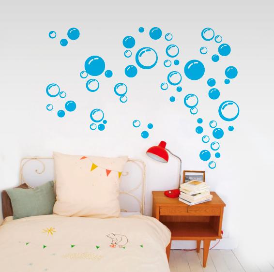 vinilos decorativos burbujas