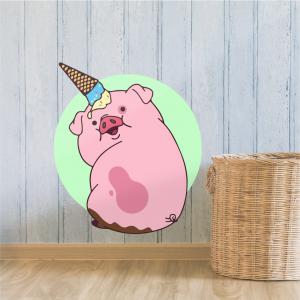 Vinilo Pig Gravity Falls