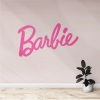 vinilo decorativo de pared barbie