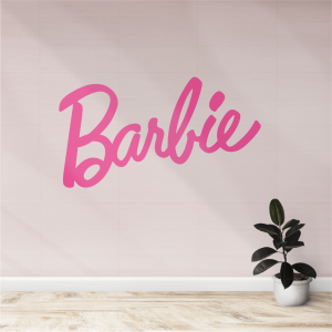 Vinilo Barbie rosado