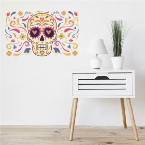 Vinilo Catrina Multi Color
