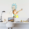vinilo decorativo para paredes de Rick and Morty
