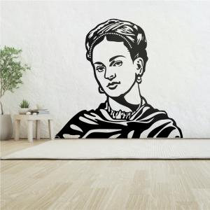 Vinilo Frida Kahlo negra